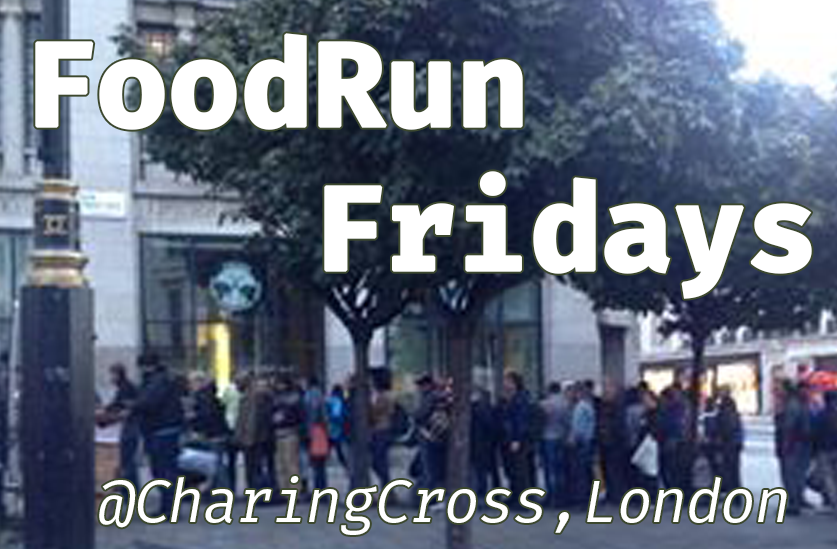 We take turns along with other volunteers to cook, pack and distribute food to the homeless on Fridays at the Strand, Charing Cross London.
