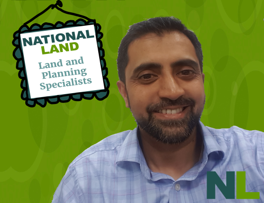Faisal Khan, one of the team leaders and Directors @ National Land